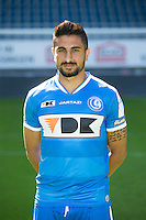 Gent's Kenneth Saief pictured during the 2015-2016 season photo shoot of Belgian first league soccer team KAA Gent, Saturday 11 July 2015 in Gent.