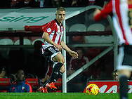 Jake Bidwell of Brentford during the Sky Bet Championship match between Brentford and Hull City at Griffin Park, London<br /> Picture by Mark D Fuller/Focus Images Ltd +44 7774 216216<br /> 03/11/2015