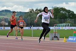 05/08/2017; Garcia Falagan, Alba, F12, ESP, Safarzadeh Ghahderijani, Hagar, T12, IRI at 2017 World Para Athletics Junior Championships, Nottwil, Switzerland