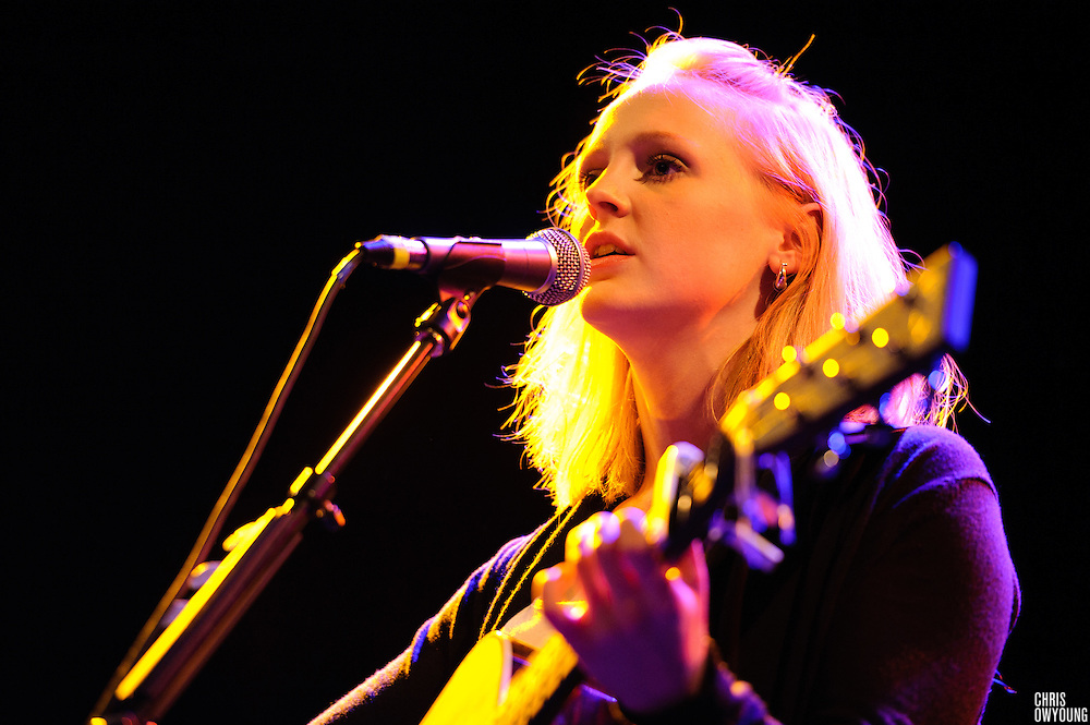 Laura Marling performs at Music Hall of Williamsburg in Brooklyn, NYC. Thursday, May 13, 2010