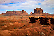 John Ford Point in Monument Valley on the Arizona-Utah border.