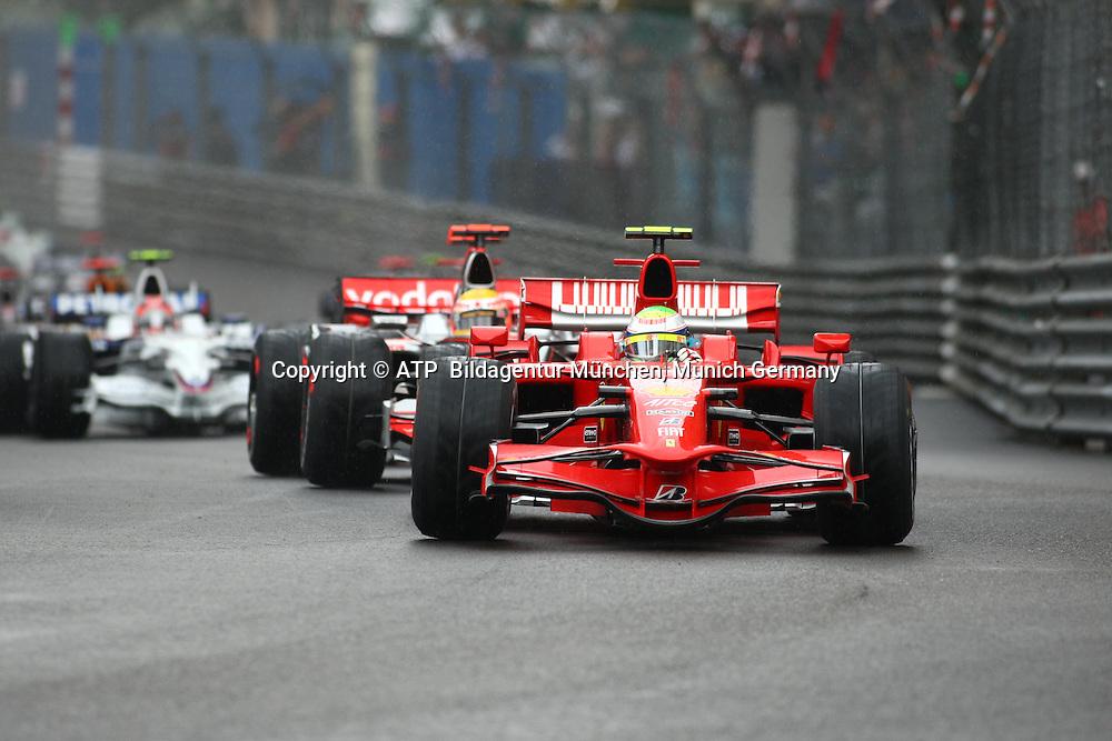 Monaco 25.05.2008 - Formula 1 Grand Prix of Monaco - Felipe MASSA, BRAZIL, Brasilien - Ferrari  - 2008 - Monte Carlo, Formel 1 -  F1 GP de Monaco - <br /> Foto: &copy; ATP Stephane MAYOR