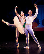 Nov 25, 2009: Theresa Wendler, principal dancer for Rebecca Kelly Ballet, and Duncan Cooper, former Principal dancer with the Dance Theater of Harlem perform in the North Country Ballet Ensemble's 2009 production of the Nutcracker at Hartman Theater in Plattsburgh, N.Y. (Photo ©Todd Bissonette - http://www.rtbphoto.com)