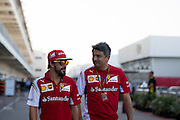 October 30-November 2 : United States Grand Prix 2014, Fernando Alonso (SPA), Ferrari, Marco Mattiacci, team principal of Scuderia Ferrari