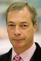 Nigel Farage UKIP Leader, UK, November 26, 2012. Photo By Tim Scrivener / i-Images.
