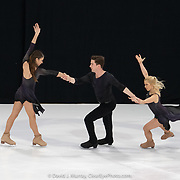 Ice Dance International performing After The Rain, Choreographed by Douglas Webster, in Portland, ME, February 2020