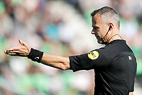 Referee Bjorn Kuipers