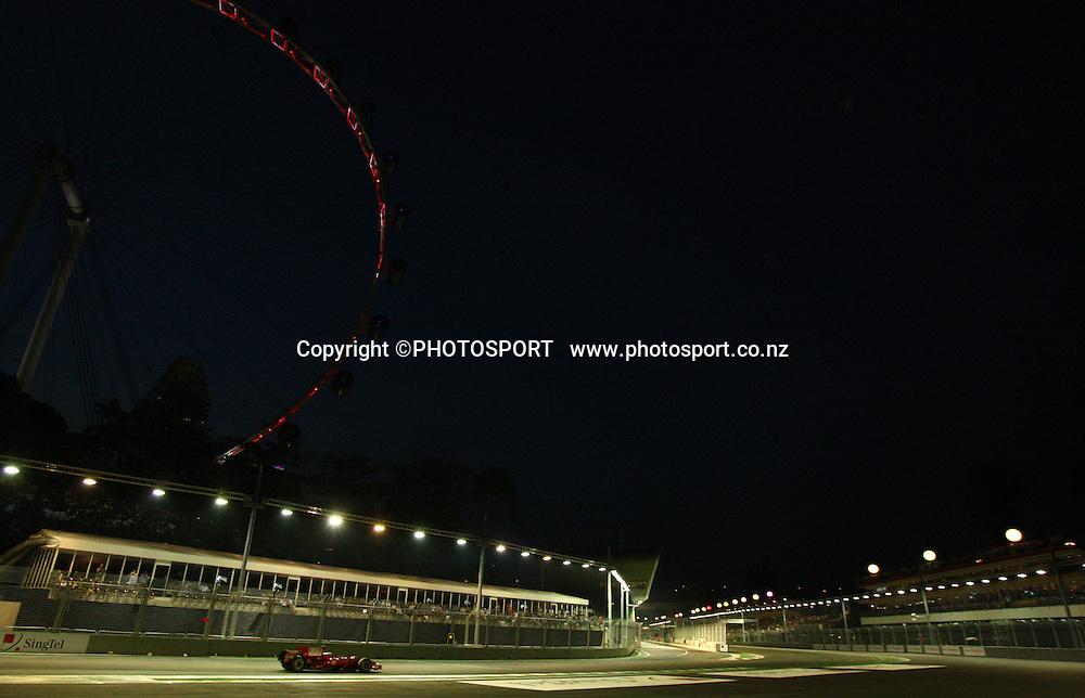Circuit view.<br />F1 GP Singapore, Sunday 28 September 2008. Photo: ATP/PHOTOSPORT