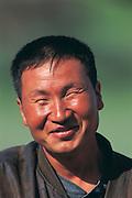 Mongolian nomad<br /> Gobi Desert<br /> Mongolia