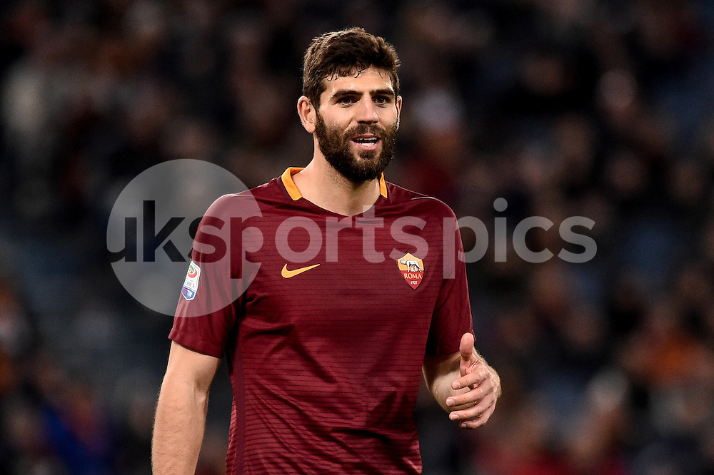 Federico Fazio of AS Roma during the Serie A match between Roma and Torino at Stadio Olimpico, Rome, Italy on 19 February 2017. Photo by Giuseppe Maffia.