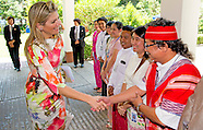 QUEEN MAXIMA VISITS MYANMAR DAY 1