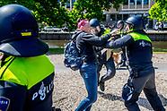 stop de lockdown demonstratie