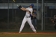 Oxford High's William Elliott vs. Hernando in MHSAA Class 5A baseball action in Oxford, Miss. on Tuesday, May 14, 2013. Hernando won 4-1.