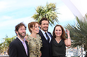 (L-R) Tim Blake,Ahna O'Reilly, James Franco & Beth Grant  attends the 'As I Lay Dying' photocall during the 66th Annual Cannes Film Festival at the Palais des Festivals on May 20, 2013 in Cannes, France..