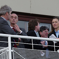 Famous Grouse day at the races..15.05.02<br />In the Edrington box at Perth Races, Derek Brown, Emrys Inker and Alex Fitch<br /><br />For details please contact Emrys Inker at the Edrington Group on 01738 493781<br /><br />Pic by Graeme Hart<br />Copyright Perthshire Picture Agency<br />Tel: 01738 623350 / 07990 594431