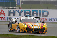 Robert Smith (GBR) / Rory Butcher (GBR) / Andrea Bertolini (ITA) #66 JMW MOTORSPORT, Ferrari F458 Italia, European Le Mans Series, Round 1, at Silverstone, Towcester, Northamptonshire, United Kingdom. April 15 2016. World Copyright Peter Taylor/PSP.
