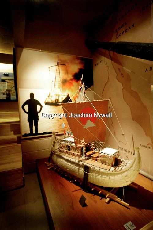 Oslo Norge 2006 07<br /> Kon Tiki museet i Oslo<br /> B&aring;ten Tigris<br /> <br /> <br /> ----<br /> FOTO : JOACHIM NYWALL KOD 0708840825_1<br /> COPYRIGHT JOACHIM NYWALL<br /> <br /> ***BETALBILD***<br /> Redovisas till <br /> NYWALL MEDIA AB<br /> Strandgatan 30<br /> 461 31 Trollh&auml;ttan<br /> Prislista enl BLF , om inget annat avtalas.