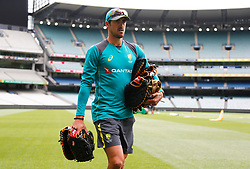 Australia's Mitchell Starc during a nets session at the Melbourne Cricket Ground, Melbourne.