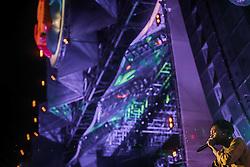O rapper americano Wiz Khalifase apresenta no palco Planeta durante a 20ª edição do Planeta Atlântida, que ocorre nos dias 29 e 30 de janeiro, na SABA, na praia de Atlântida, no Litoral Norte gaúcho.  Foto: Vitor Maestri / Agência Preview