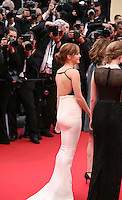 Actress Emma Watson.being photographed at the gala screening of Jeune & Jolie at the 2013 Cannes Film Festival 16th May 2013