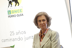 24.09.2015, Madrid, ESP, 25 Jahre Perro Guia ONCEs Foundation, im Bild Queen Sofia of Spain // during the 25th anniversary of 'Perro Guia ONCE's Foundation'. in Madrid, Spain on 2015/09/24. EXPA Pictures © 2015, PhotoCredit: EXPA/ Alterphotos/ Acero<br /> <br /> *****ATTENTION - OUT of ESP, SUI*****
