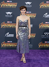 'Avengers: Infinity War' Los Angeles Premiere - Red Carpet 04-23-2018