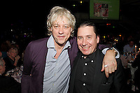 Bob Geldof and Jools Holland, the 2011 MITs Award. Held at the Grosvenor Hotel London in aid of Nordoff Robbins and the BRIT School. Monday, Nov.7, 2011