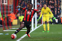 Max Gradel of Bournemouth tries to keep the ball in play - Mandatory by-line: Jason Brown/JMP - Mobile 07966 386802 12/03/2016 - SPORT - FOOTBALL - Bournemouth, Vitality Stadium - AFC Bournemouth v Swansea City - Barclays Premier League