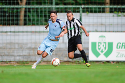 Burgic Miran of ND Gorica during the football match between ND Mura and ND Gorica in 1st Round of Pokal Slovenije 2015/16, at Fazanerija on August 19, 2015 in Murska Sobota, Slovenia. Photo by Mario Horvat / Sportida