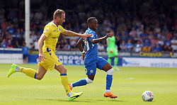 Siriki Dembele of Peterborough United in action with Alex Rodman of Bristol Rovers - Mandatory by-line: Joe Dent/JMP - 04/08/2018 - FOOTBALL - ABAX Stadium - Peterborough, England - Peterborough United v Bristol Rovers - Sky Bet League One