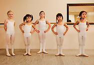 ballet practice at the Russian Ballet Academy of Indiana