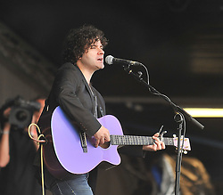 Paddy Casey performing on the main stage at the Westport Festival.<br /> Pic Conor McKeown