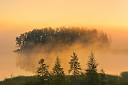 Isabel Lake at sunrise<br /> Kenora<br /> Ontario<br /> Canada