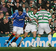 Rangers' Kyle Lafferty during the League Cup final between Rangers and Celtic at Hampden Park -<br /> David Young Universal News And Sport