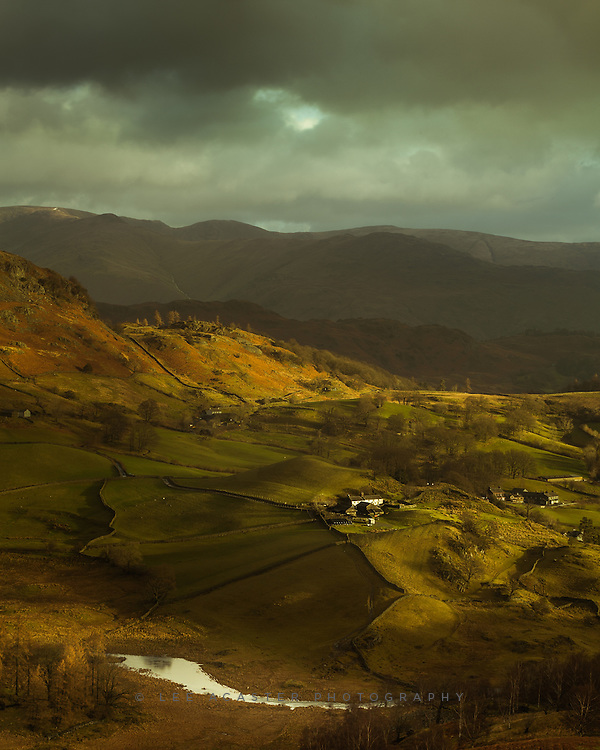A view across Little Langdale (I think). Should have made more of this compositon really but made the schoolboy error of leaving Image stabilisation on whilst on the tripod and lost a fair few shots.