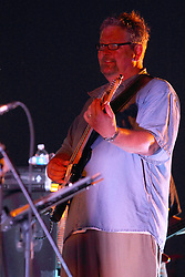 20 September 2014:   Marc Boon<br /> <br /> Marc Boon and the Unknown Legends perform at the Chris Brown Benefit Concert at the Corn Crib Stadium, Normal Illinois.  The band is comprised of 8 musicians: Marc Boon - front man and lead guitar, Jeff Young - drums, Ray Wiggs- keyboards, Aaron Garcia - trumpet-percussion-vocals, Burl Torner - guitar, Russell Zehr - saxaphone-guitar-keyboards-vocals, Chris Briggs - bass-vocals-keyboard, Jerry Abner - keyboards,