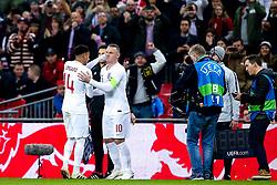 Wayne Rooney of England replaces Jesse Lingard of England - Mandatory by-line: Robbie Stephenson/JMP - 15/11/2018 - FOOTBALL - Wembley Stadium - London, England - England v United States of America - International Friendly