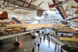 10.01.2016, Steven F. Udvar-Hazy, Chantilly, USA, National Air and Space Museum, im Bild Eine Corcorde der Fluggesellschaft Air France ist das Herzstueck im Ausstellungsbereich zur kommerziellen Luftfahrt // Exhibits of the American National Air and Space Museum at the Steven F. Udvar-Hazy in Chantilly, United States on 2016/01/10. EXPA Pictures © 2016, PhotoCredit: EXPA/ Eibner-Pressefoto/ Hundt<br /> <br /> *****ATTENTION - OUT of GER*****