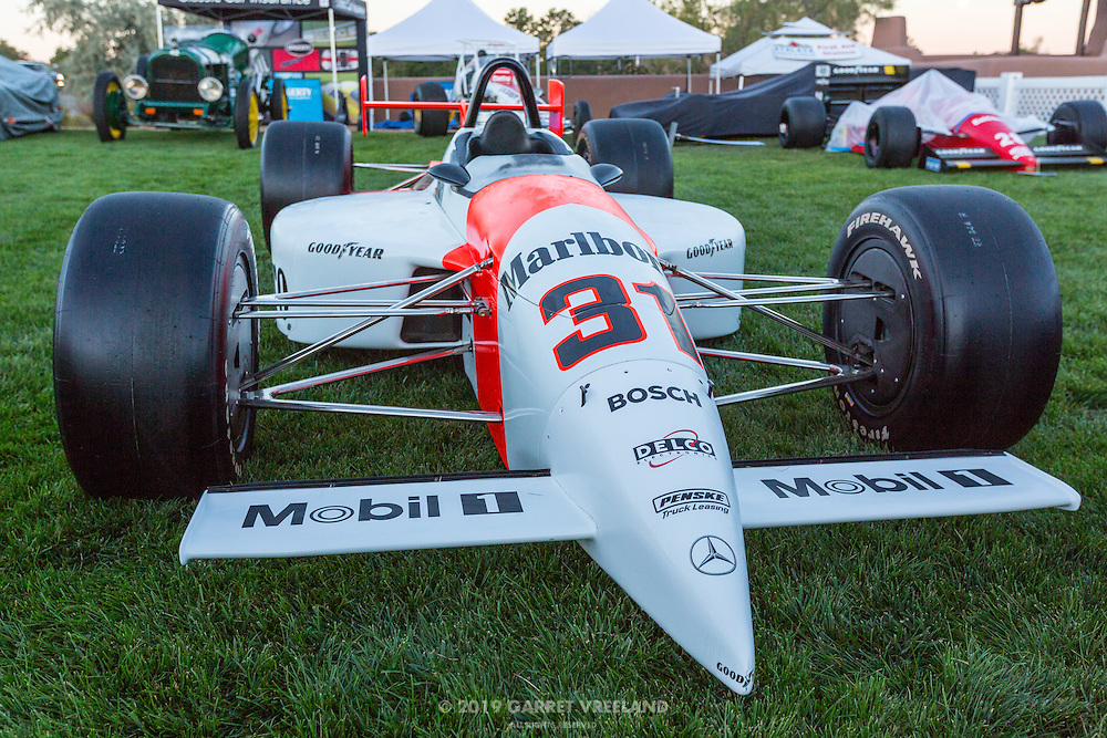 1994 Penske PC-23 Indy Car, at the 2012 Santa Fe Concorso.