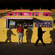 An ice cream stall at the Night horse racing at Canterbury race course, Sydney, Australia,  02 December 2009. Photo Tim Clayton.