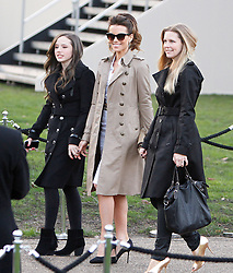Actress Kate Beckinsale leaving the Burberry Prorsum show during London Fashion Week Fall/Winter 2013/14 in London, UK. 18/02/2013<br />BYLINE MUST READ : GOTCHAIMAGES.COM<br /><br />Copyright by © Gotcha Images Ltd. All rights reserved.<br />Usage of this image is conditional upon the acceptance <br />of Gotcha Images Ltd, terms and conditions available at<br />www.gotchaimages.com