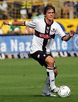 Parma 24/09/2006<br /> Campionato Italiano Serie A 2006/07<br /> Parma-Roma 0-4<br /> Daniele Dessena Parma<br /> Foto Luca Pagliaricci Inside<br /> www.insidefoto.com