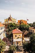 View of Wat Lanka, Phnom Penh