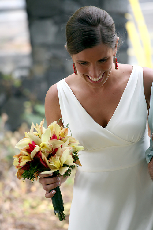 Hawaii Bride Laughing