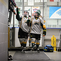 Women's Hockey home game on February 10 at Co-operators arena. Credit: Arthur Ward/Arthur Images