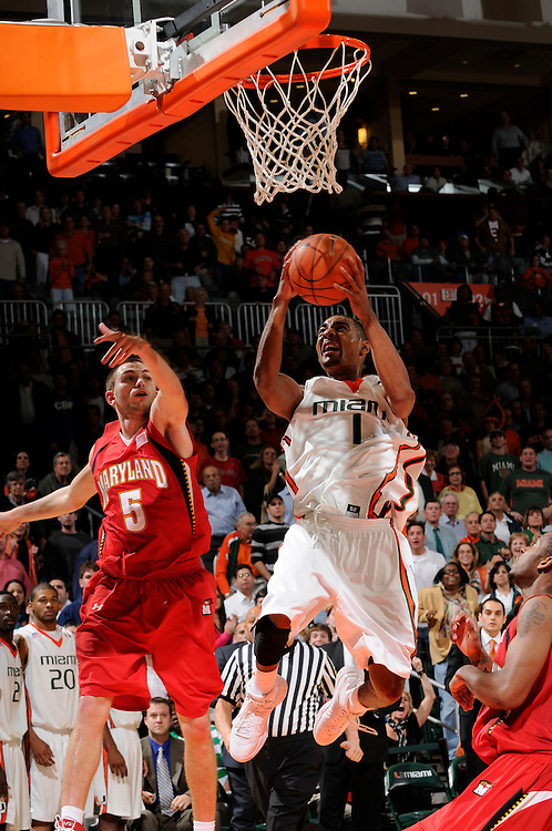 2009 University of Miami Men's Basketball vs Maryland