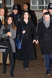 © Licensed to London News Pictures. 27/01/14 The Metropolitan Police Service (MPS) have stated there will be no further action by police against NIGELLA LAWSON in connection with drug use. FILE PICTURE DATED  04/12/2013. London, UK. Television cook, NIGELLA LAWSON leaving Isleworth Crown Court in London surrounded by police and her legal team, after giving evidence in the trial of two former personal assistants who worked for her and Charles Saatchi. Italian Sisters Elisabetta and Francesca Grillo are accused of misappropriating funds while working for Saatchi and Lawson. Photo credit : Ben Cawthra/LNP