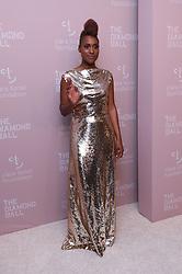 September 15, 2018 - New York City, New York, USA - 9/13/18.Issa Rae at Rihanna''s 4th Annual Diamond Ball held at Cipriani Wall Street in New York City..(NYC) (Credit Image: © Starmax/Newscom via ZUMA Press)