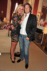 JACQUI BRANTJES and DANIEL PITTACK at a party to celebrate Tamara Ecclestone's 28th birthday held in Tyringham, Newport Pagnell, Bucks on15th June 2012.