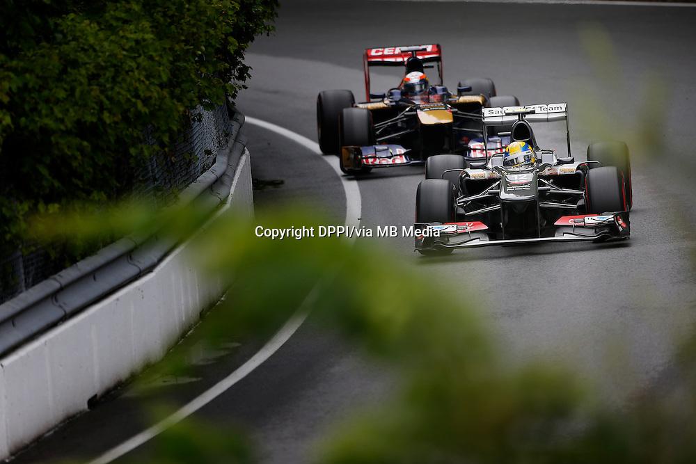 MOTORSPORT - F1 2013 - GRAND PRIX OF CANADA - MONTREAL (CAN) - 07 TO 09/06/2013 - PHOTO FRANCOIS FLAMAND / DPPI - GUTIERREZ ESTEBAN (MEX) - SAUBER F1 C32 - ACTION